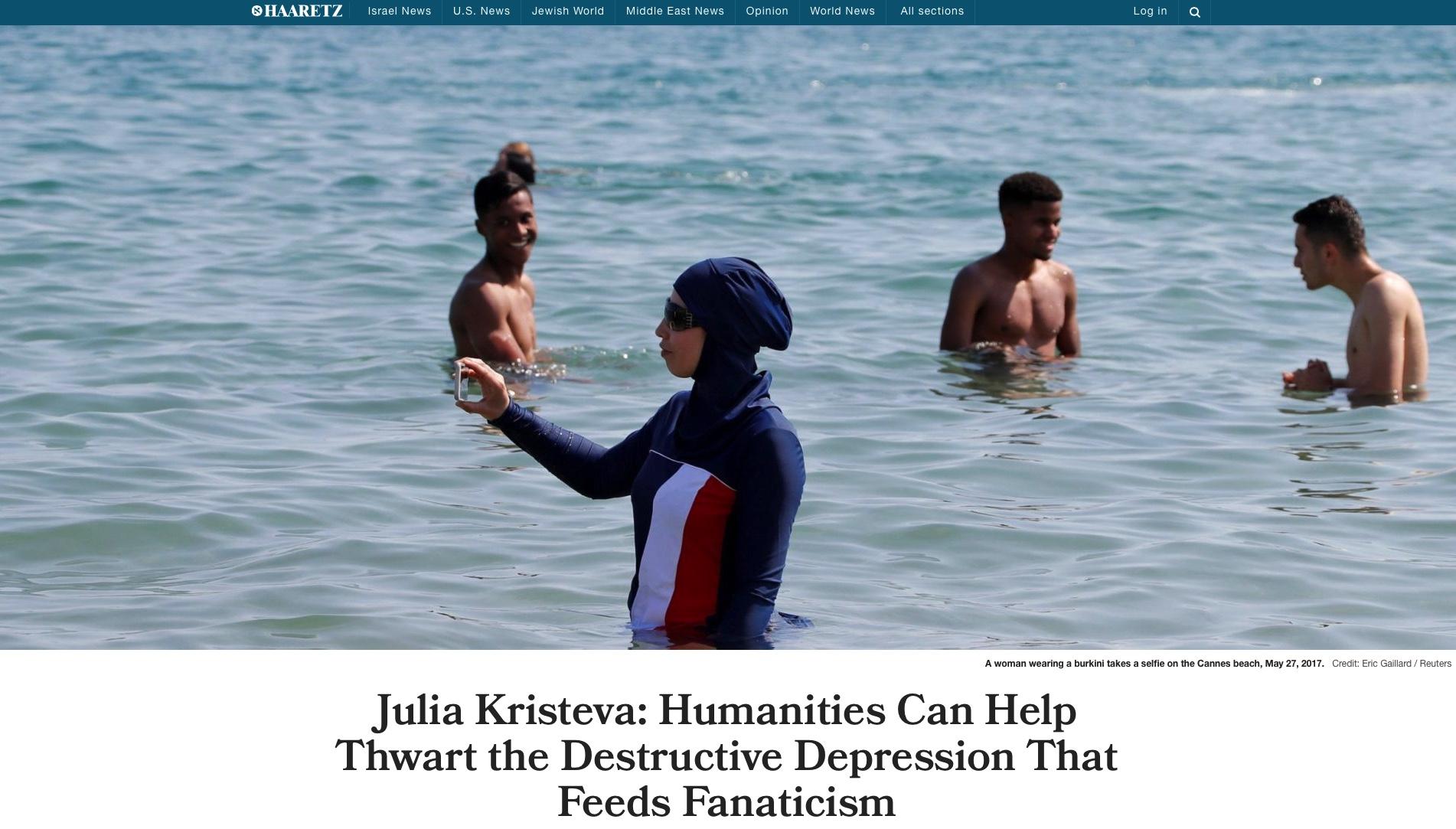 Julia Kristeva: The humanities can help thwart the destructive