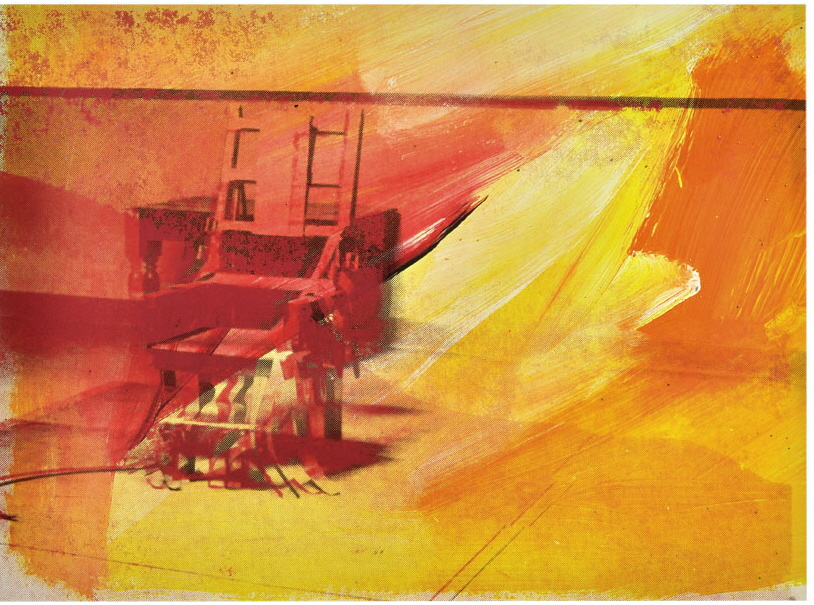 Electric Chair Andy Warhol 1971