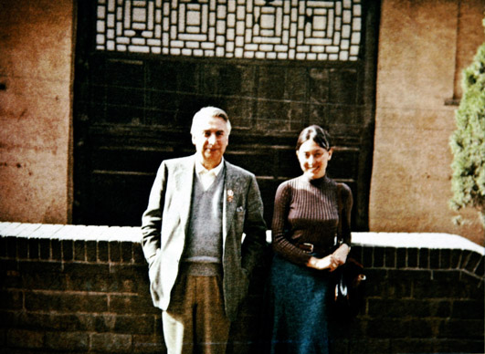 Julia Kristeva, Roland Barthes, Chine, 1974