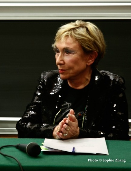 Julia Kristeva, photo Sophie Zhang