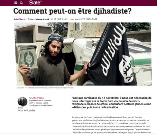 Site rencontre djihadiste